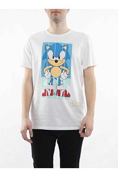 MARVEL Sonic Angry Face Beyaz T-shirt-lisanslı