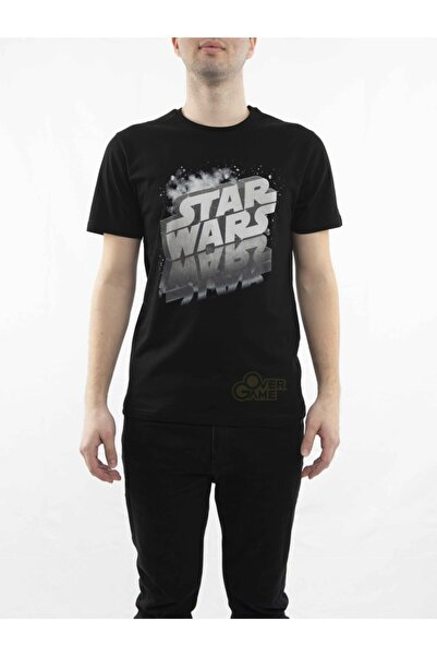 MARVEL Star Wars Reflection Siyah T-shirt-lisanslı