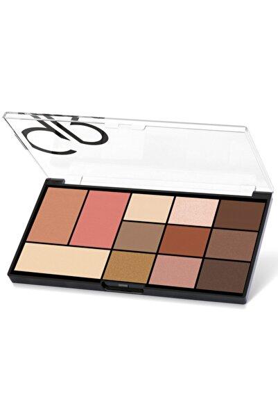 Golden Rose Yüz & Göz Paleti - City Style Face & Eye Palette No:01 Warm Nude