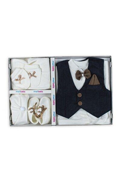 babybella Erkek Bebek Mevlüt Düğün Kıyafeti 5li Set