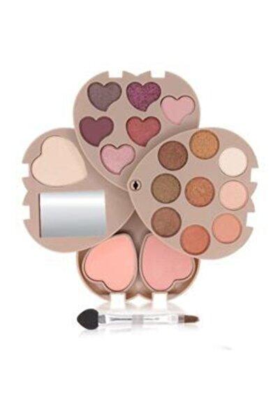 Makeuptime Kalpli Açılır Far Paleti 3 Katlı