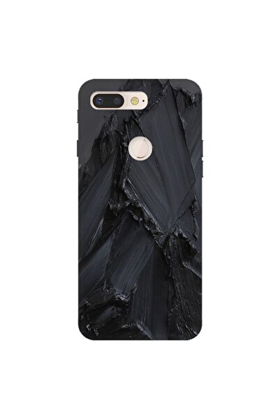 General Mobile Gm 9 Pro Uyumlu Pure Modern Desenli Silikon Kılıf Siyah Beton