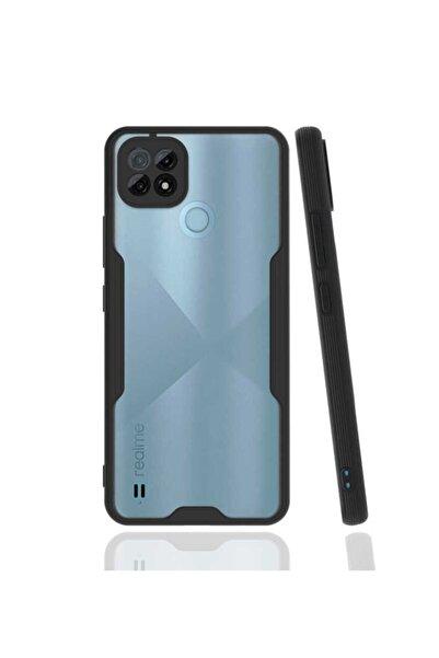 Oppo Realme Realme C21 Kamera Korumalı Mat Renk Parfe Model Silikon