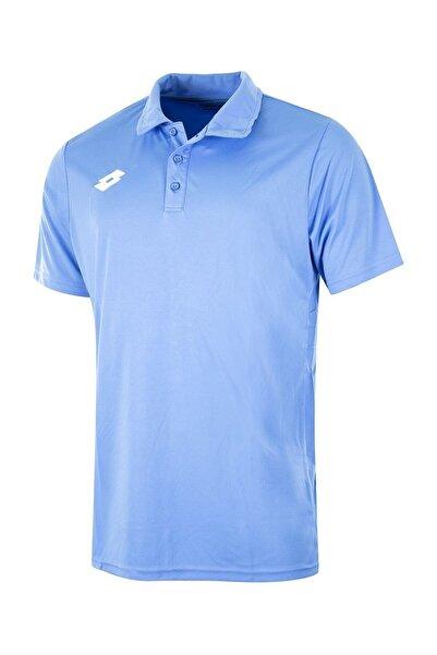 Lotto R4319 Delta Pl Açık Mavi Erkek Poloyaka Tişört