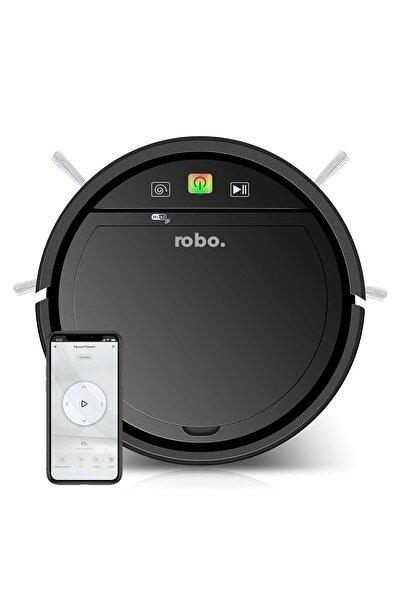 Pratikko Robo Akıllı Robot Süpürge Siyah