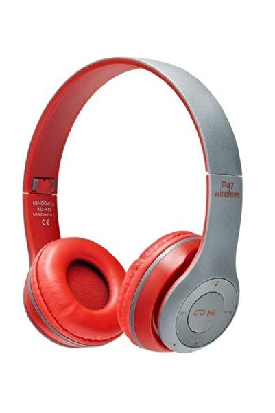 9a P47 Bluetooth Kulaklık Mp3 Fm Radyo Sd Kart Solo 2 Beats Model Kulaküstü
