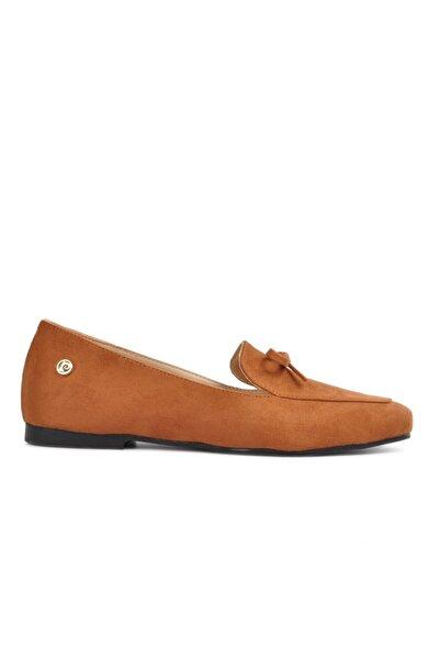 Pierre Cardin 51073 Taba Kadın Loafer Ayakkabı