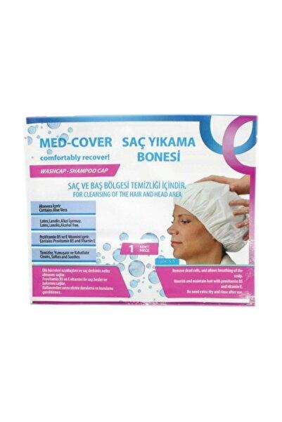 Medcover Med-cover Hasta Saç Bakım/temizleme/yıkama Bonesi (1 Adet/paket)