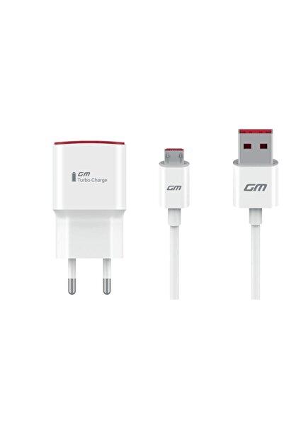 General Mobile Turbo Şarj Adaptörü Ve Mikro Usb Kablo (Telpa Türkiye Garantili)