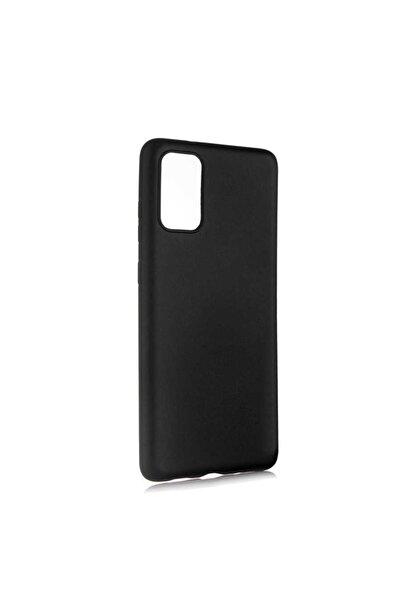 Samsung Galaxy S20 Plus Kılıf Ultra Ince Silikon Yumuşak Yüzey Premier Kapak Siyah