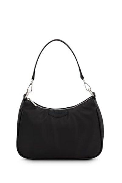 Kadın Siyah Baguette Çanta 206