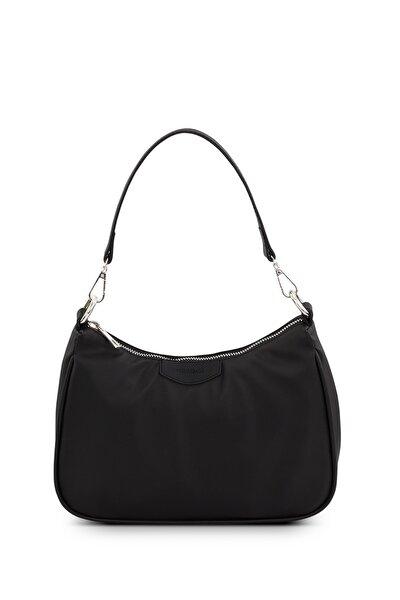 Housebags Kadın Siyah Baguette Çanta 206