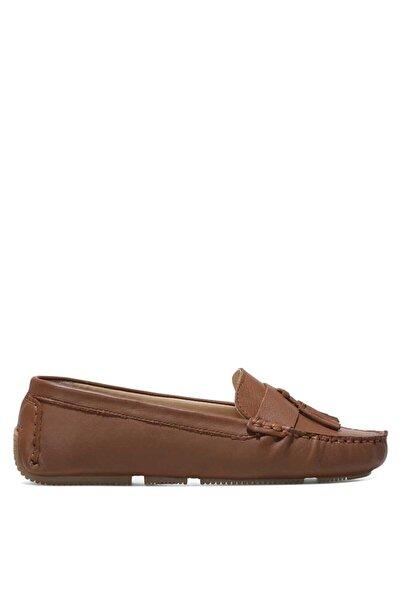 Nine West Yujıx 1fx Taba Kadın Loafer Ayakkabı
