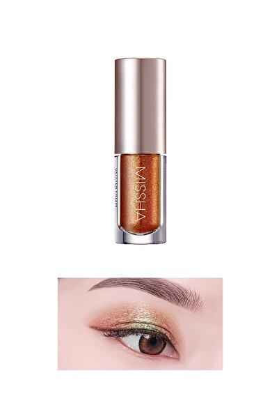 Missha Işıltılı ve Parlak Glitter Likit Göz Farı No.6 Orange Hysteria Prism Liquid Eyeshadow Shine
