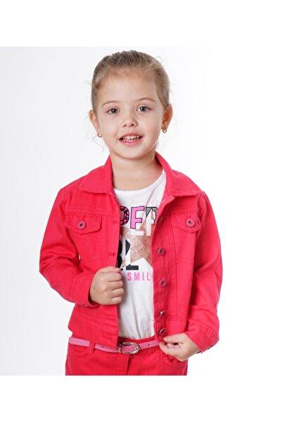 Varol Kids Renkli Kot Kız Çocuk Ceket