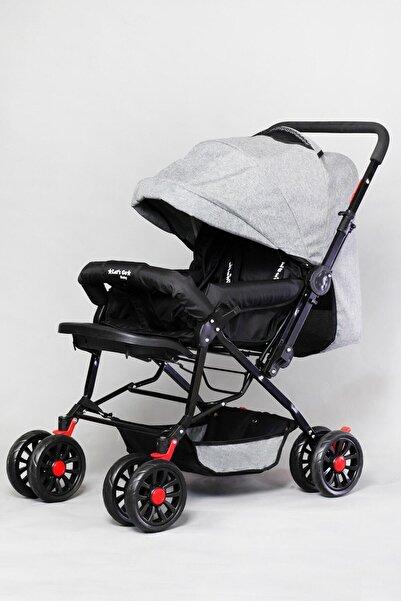 LETS GO BABY Ergonomik Gri Bebek Arabası