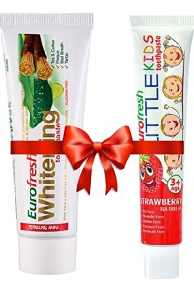 Farmasi Aloe Veralı Misvaklı Beyazlatıcı 112 gr Üzeri Çocuk Ve Hassas Dişler İçin Diş Macunu 50 gr
