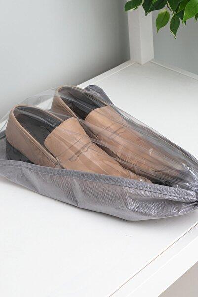 Favore Casa Ayakkabı Kılıfı 35x23 Cm Koyu Gri