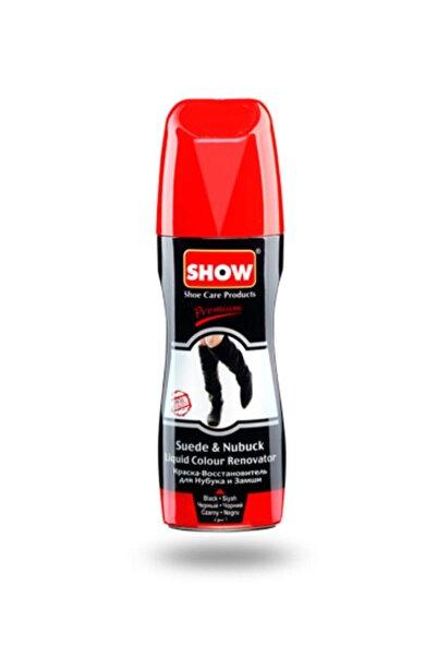 SHOW Likit Siyah Süet & Nubuk Ayakkabı Boyası - 75ml