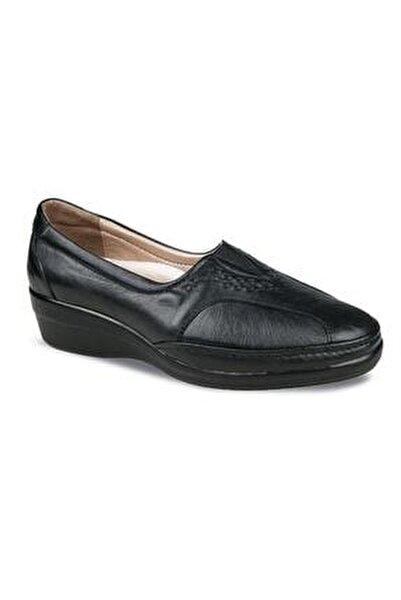 Kadın Ayakkabı 9920-24 Siyah Hakiki Deri