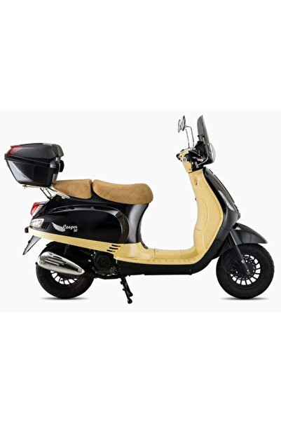 Falcon 50 Cc Scooter Cooper Siyah