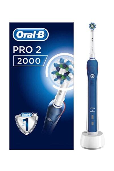 Oral-B Şarj Edilebilir Diş Fırçası Cross Action Pro 2000