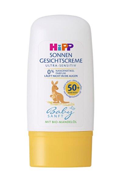 Hipp Babysanft Güneş Kremi-yüz Için 50 Faktör 30 ml