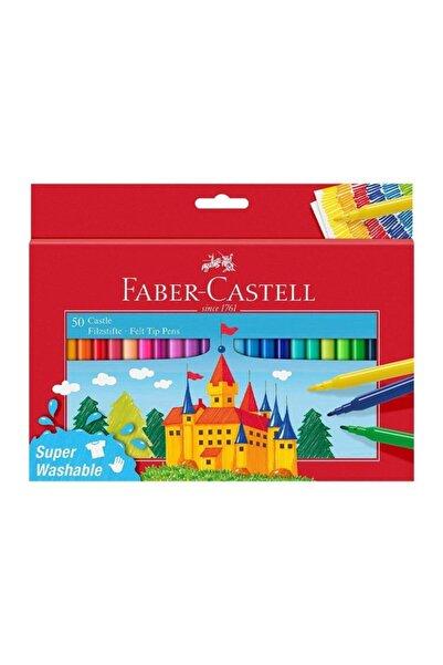 Faber Castell Yıkanabilir Keçeli Kalem 50'li 554204