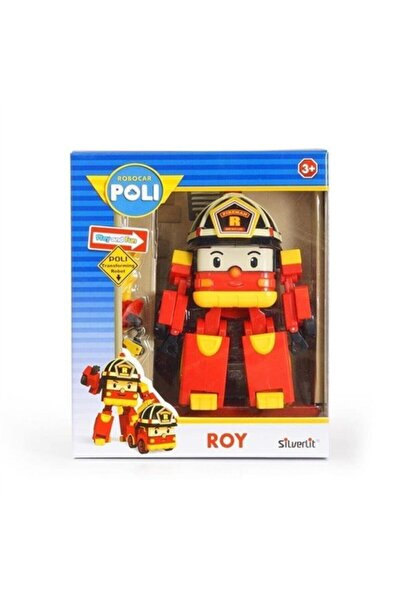 Robocar Poli Transformers Robot Figür Oyuncak Roy