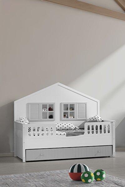 Aymini Nirvana Mia Montessori Yavrulu Genç Odası Karyola 90x190