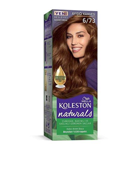 Koleston 6/73 Ayışığı Kahve Wella Naturals Saç Boyası
