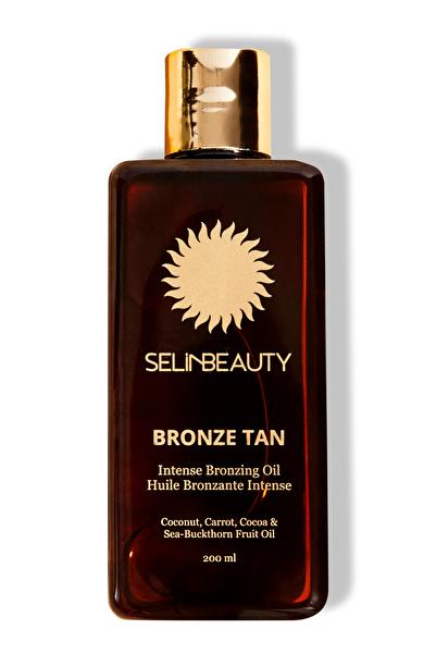 Selin Beauty Bronzlaştırıcı Yağ - Bronze Tan Intense Bronzing Oil 200 ml