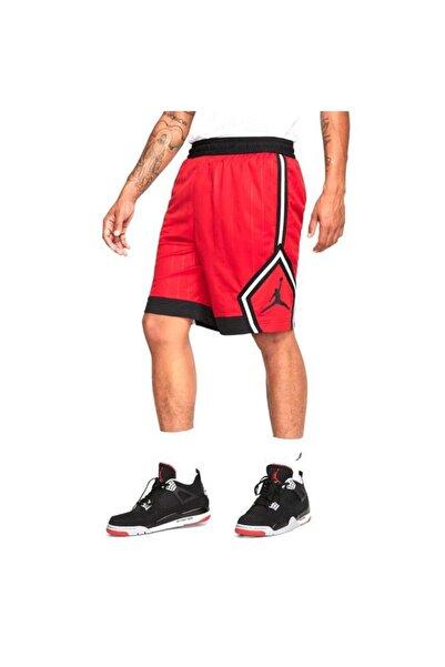 Nike Jordan Nba Jumpman Diamond Erkek Kırmızı Basketbol Şortu Cd4908-687