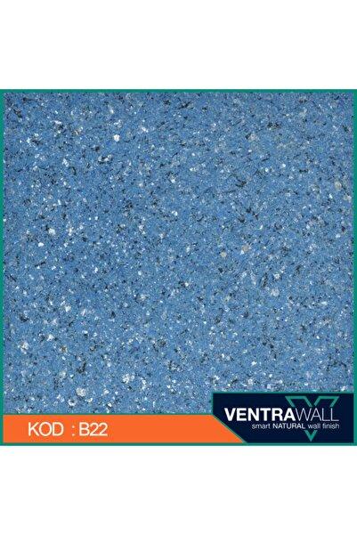 ventrawall Ipek Sıva Duvar Boyası Mavi B22