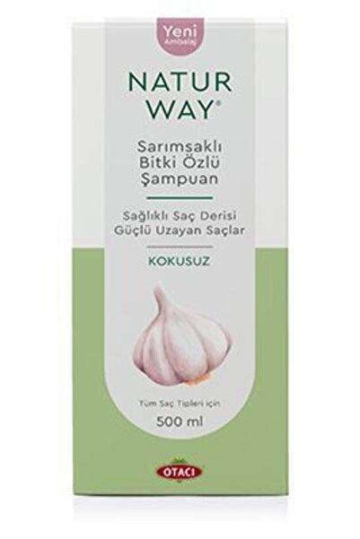 Otacı Naturway Sarımsaklı Şampuan Kokusuz 500 ml