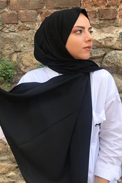 Stella Medine İpeği Şal Siyah