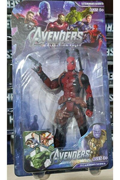 AVENGERS Deadpool Pilli Işıklı 20cm Figür Oyuncak
