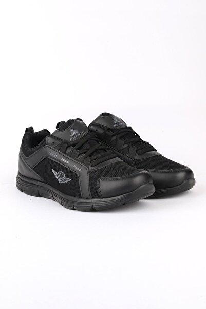 ODESA Erkek Siyah Spor Ayakkabı