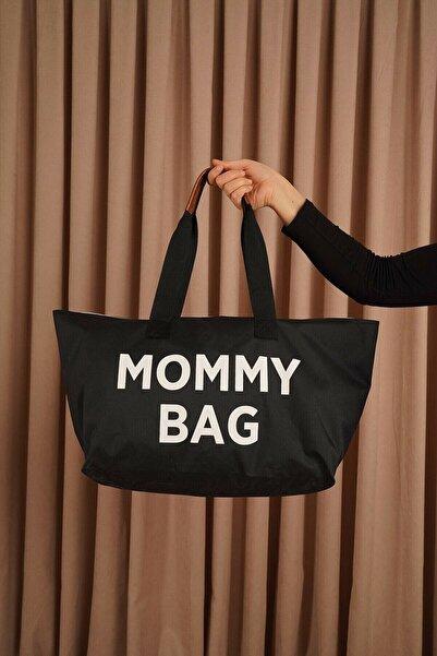 Vk&Vk Mommy Bag Siyah Çanta - Anne Bebek Bakım Çantası