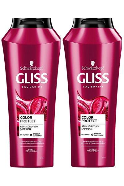 Gliss Color Protect Renk Koruyucu ve Canlandırıcı Şampuan 500 ML 2'li