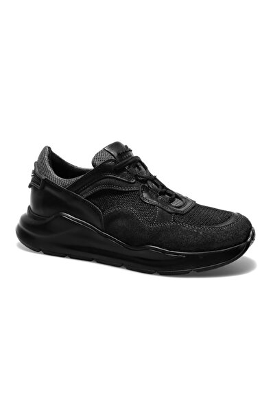 Male Industry Siyah Erkek Oxford Ayakkabı 1MALM2020003