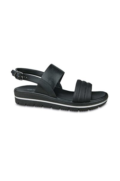 Ceyo Kadın Siyah Sandalet 9967-5