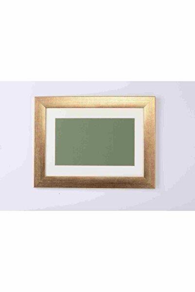 Tuğra Sanat Galerisi Standart A4 Çerçeve 21 X 29,7 Cm Iç Ölçü. 3,0 Cm Krem Paspartulu, Camlı 30 Mm Çerçeve