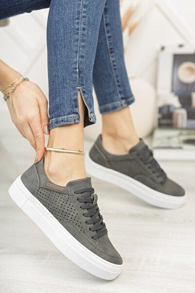 Chekich Ch015 Kadın Ayakkabı Antrasit