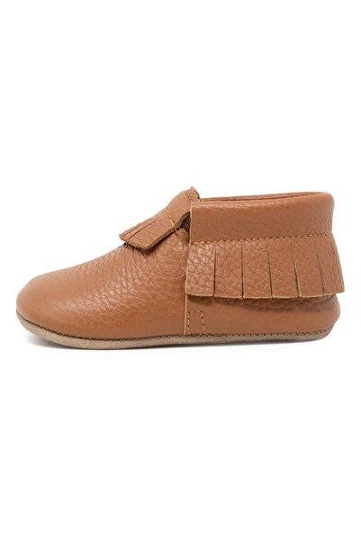 Ella Bonna Bebek Taba Nubuk Taban Makosen Ayakkabı