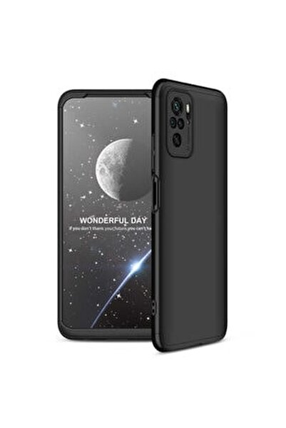 Coverstation Redmi Note 10 Pro Kılıf Ays Kapak 360° Tam Koruma Darbe Emici Kamera Koruyucu Mat Kapak