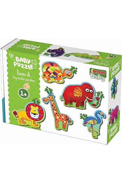 DIYTOY Bebek Puzzle Ilk Orman Hayvanları Seti