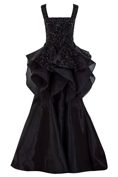 Bozsisters Kadın Siyah Anna Abiye Elbise