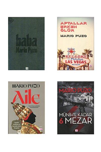 E yayınları Mario Puzo Kitapları 4 Kitap Set Baba, Aile, Aptallar Erken Ölür, Münihe Kadar 6 Mezar