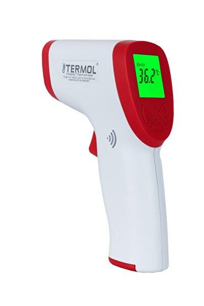Termol Temassız Ateş Ölçer Yerli Üretim 2 Yıl Garantili Dijital Kızılötesi Termometre